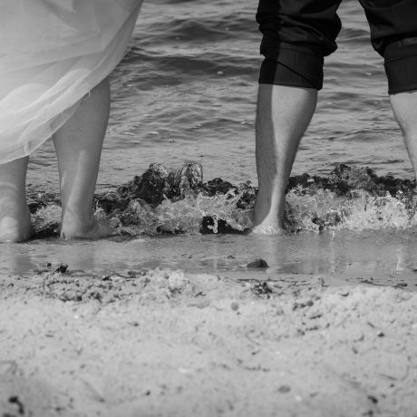 Hochzeitsshooting Zierow Strand